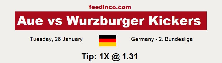 Aue v Wurzburger Kickers Prediction