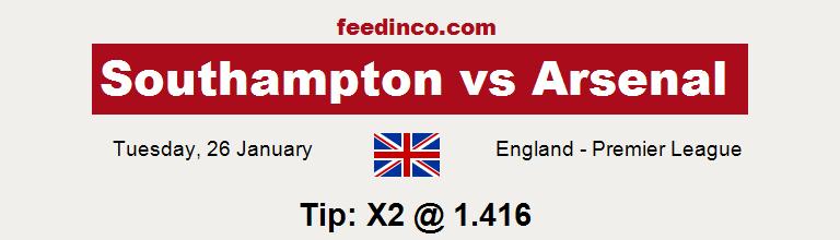 Southampton v Arsenal Prediction