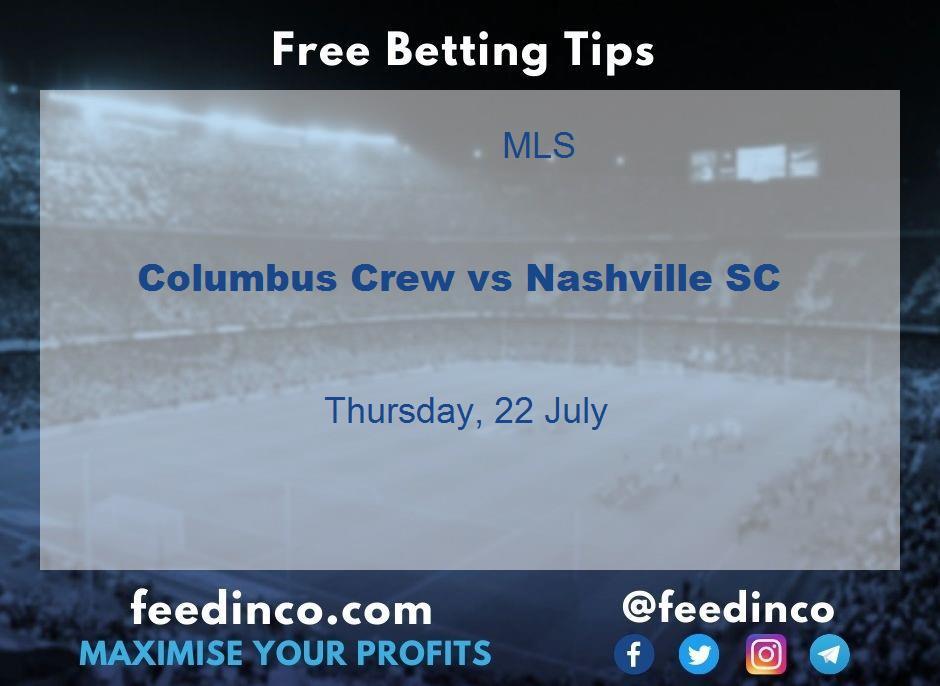 Columbus Crew vs Nashville SC Prediction