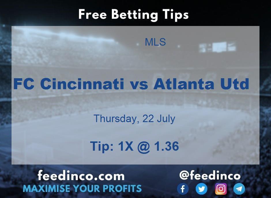 FC Cincinnati vs Atlanta Utd Prediction
