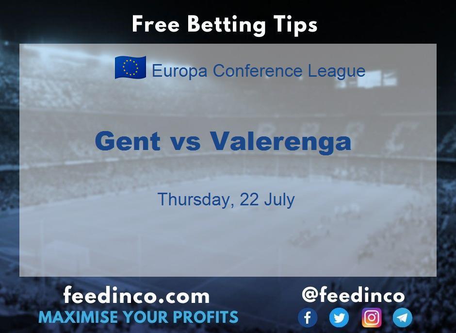 Gent vs Valerenga Prediction
