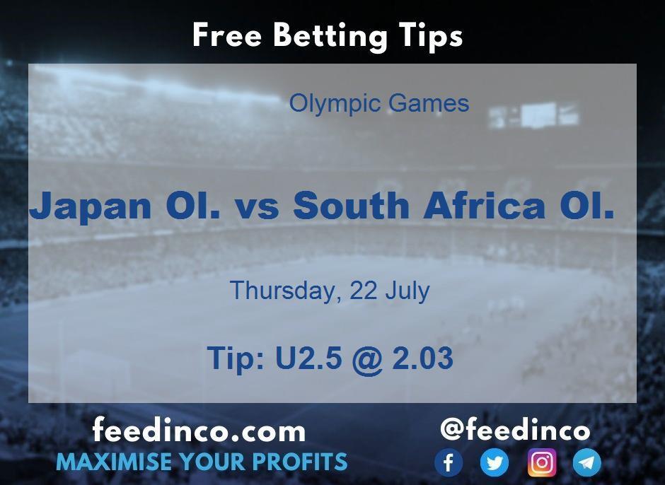 Japan Ol. vs South Africa Ol. Prediction