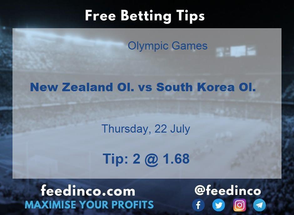 New Zealand Ol. vs South Korea Ol. Prediction