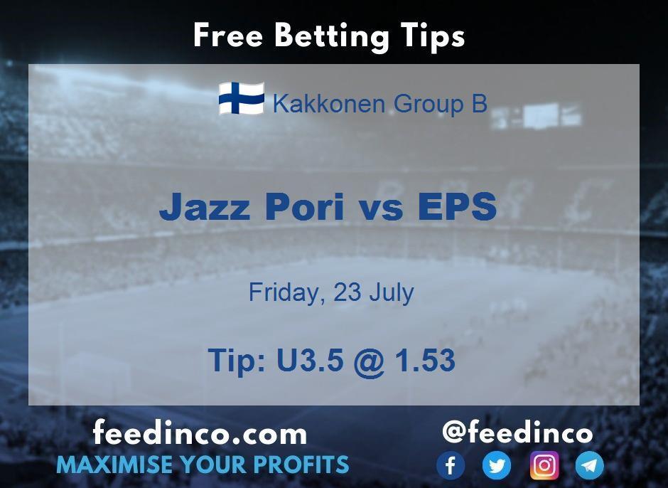 Jazz Pori vs EPS Prediction