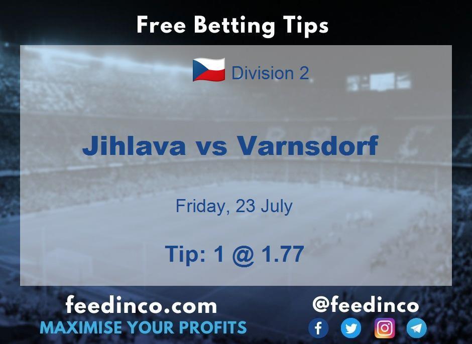 Jihlava vs Varnsdorf Prediction