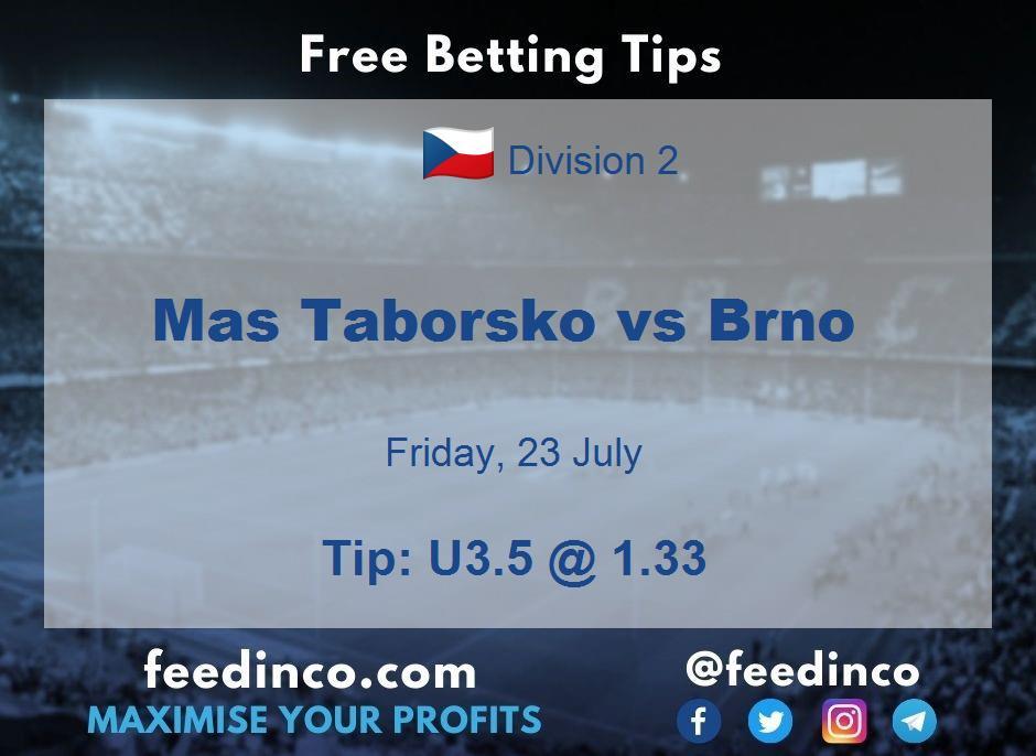 Mas Taborsko vs Brno Prediction