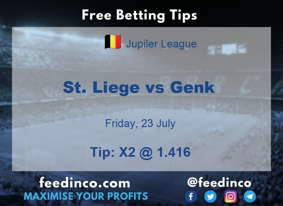 St. Liege vs Genk Prediction