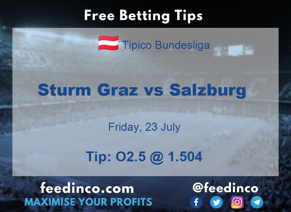 Sturm Graz vs Salzburg Prediction