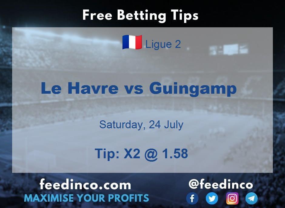 Le Havre vs Guingamp Prediction