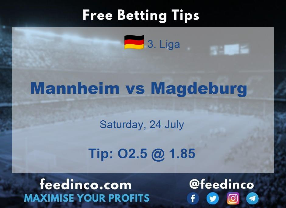 Mannheim vs Magdeburg Prediction