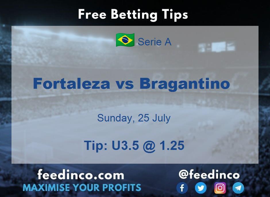 Fortaleza vs Bragantino Prediction