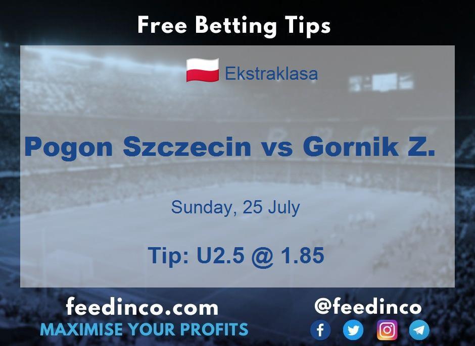 Pogon Szczecin vs Gornik Z. Prediction