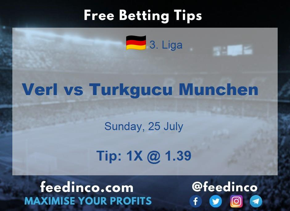 Verl vs Turkgucu Munchen Prediction