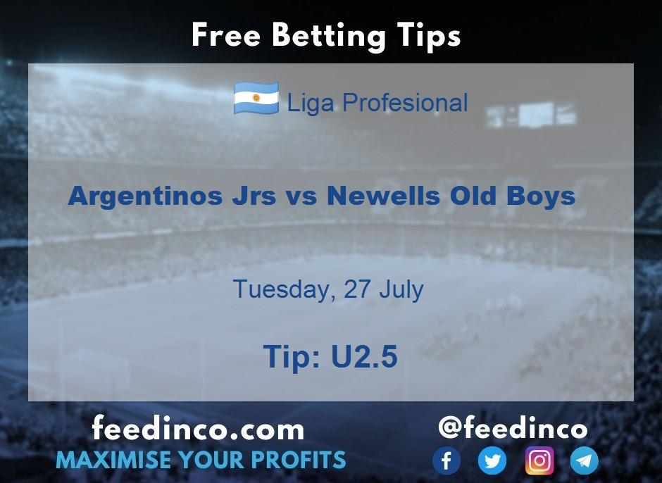 Argentinos Jrs vs Newells Old Boys Prediction