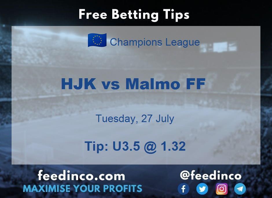HJK vs Malmo FF Prediction