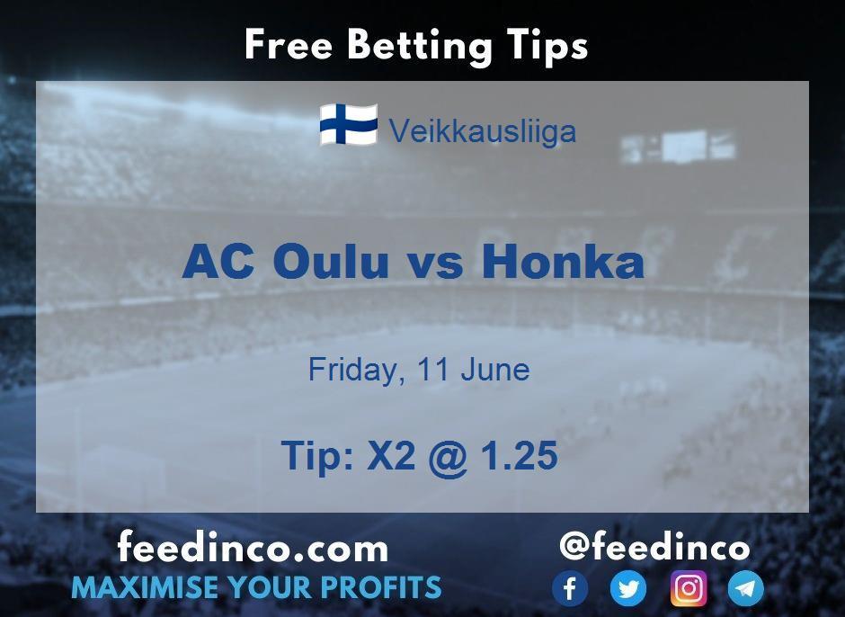 AC Oulu vs Honka Prediction