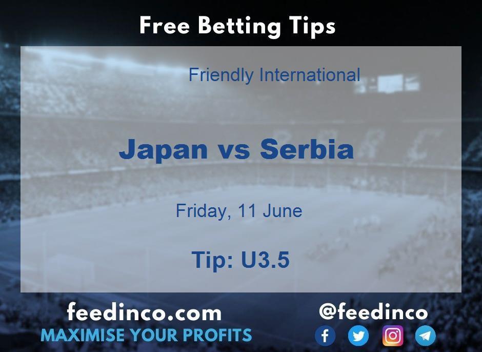 Japan vs Serbia Prediction