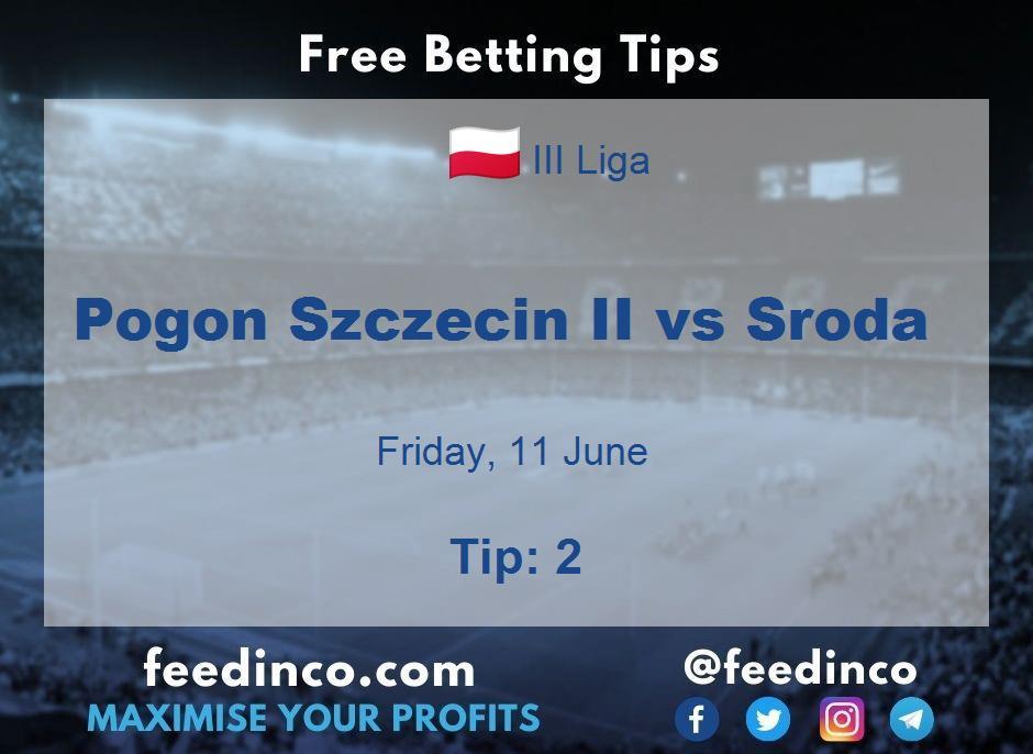 Pogon Szczecin II vs Sroda Prediction