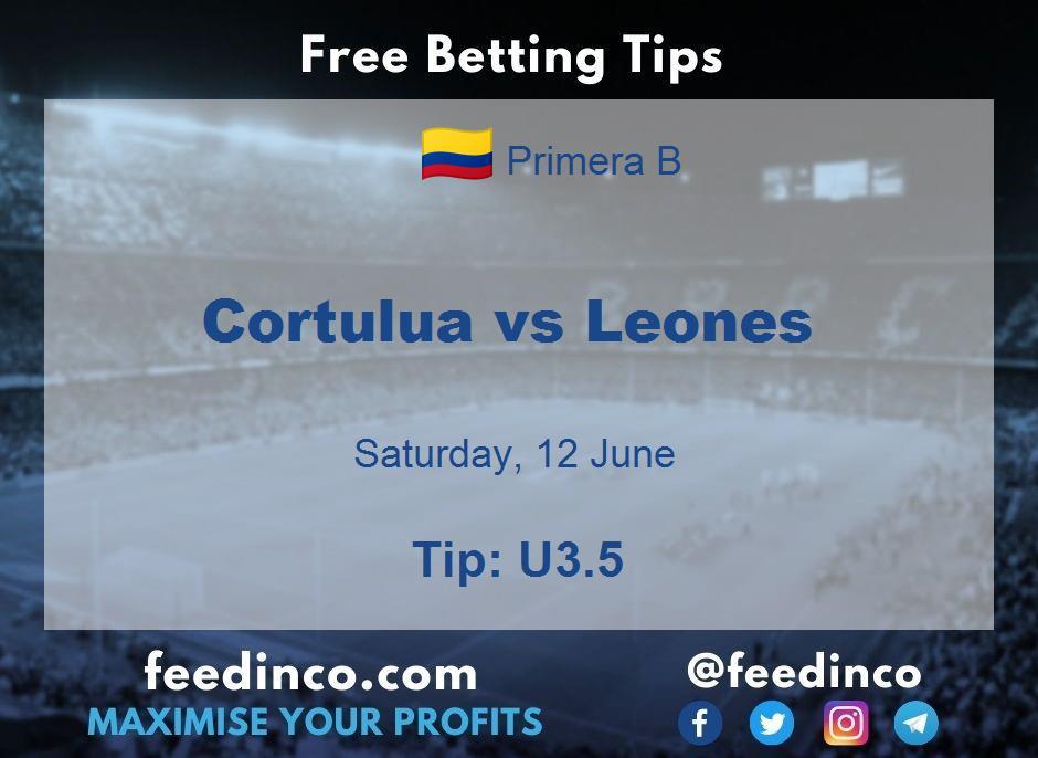 Cortulua vs Leones Prediction