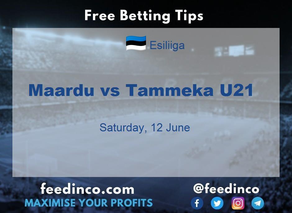 Maardu vs Tammeka U21 Prediction