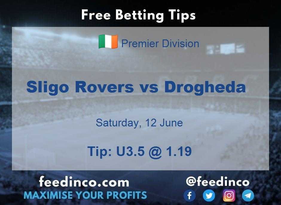 Sligo Rovers vs Drogheda Prediction