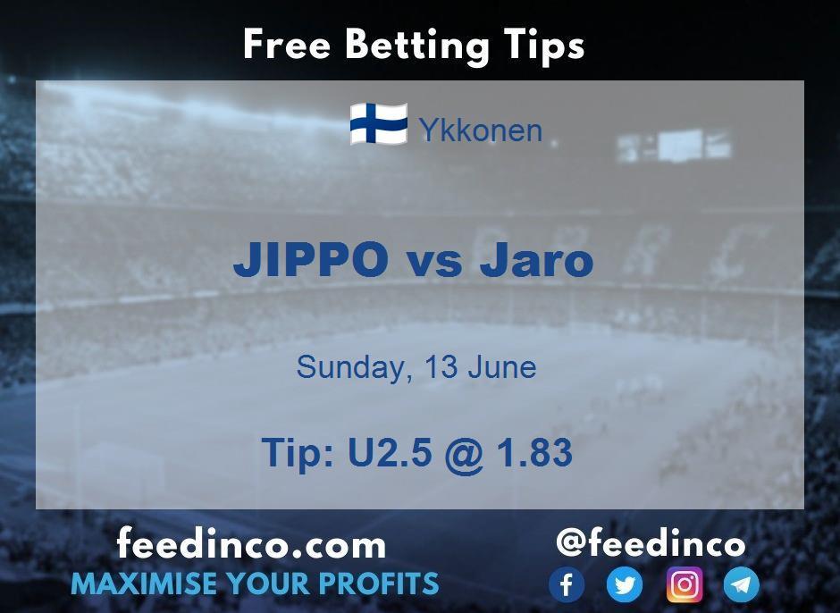 JIPPO vs Jaro Prediction