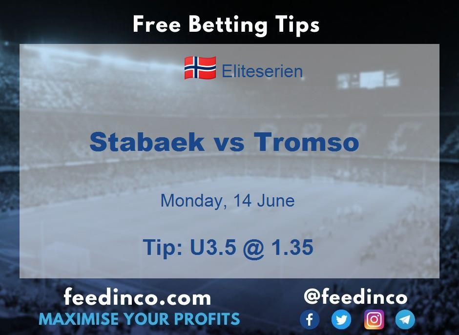 Stabaek vs Tromso Prediction