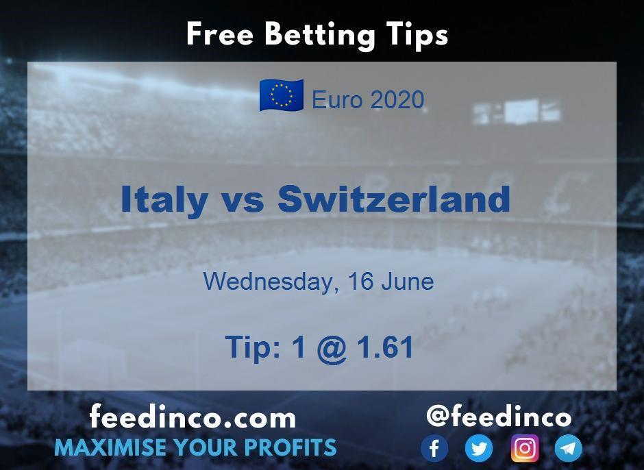 Italy vs Switzerland Prediction