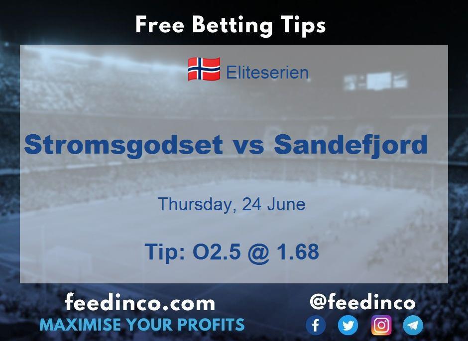 Stromsgodset vs Sandefjord Prediction