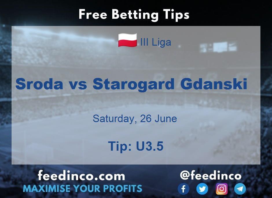 Sroda vs Starogard Gdanski Prediction