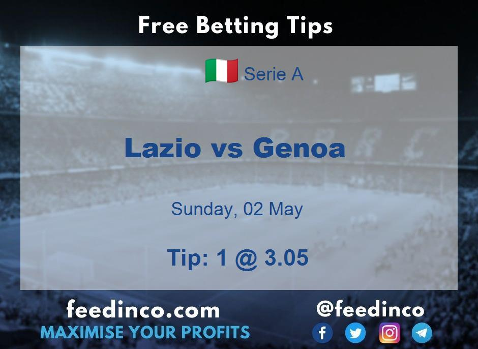 Lazio vs Genoa Prediction