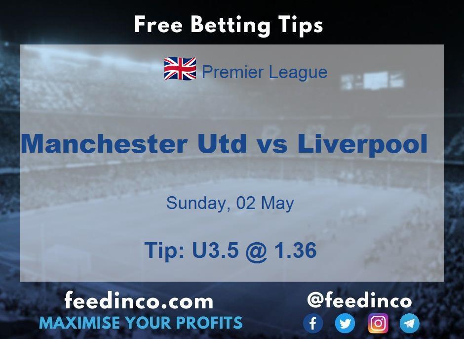 Manchester Utd vs Liverpool Prediction