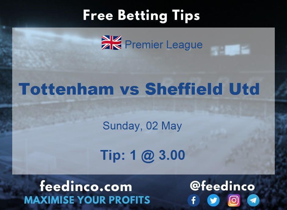 Tottenham vs Sheffield Utd Prediction