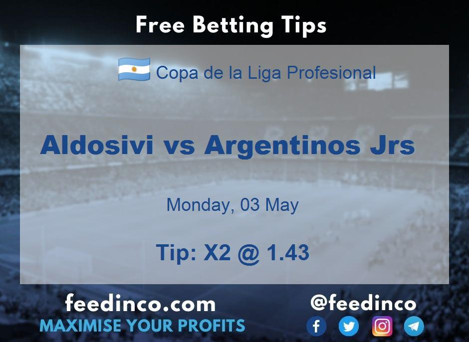 Aldosivi vs Argentinos Jrs Prediction
