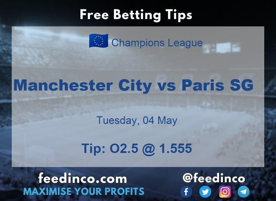 Manchester City vs Paris SG Prediction