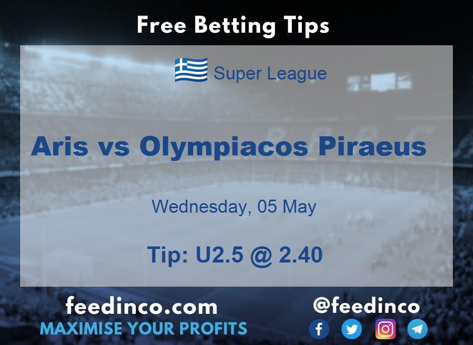 Aris vs Olympiacos Piraeus Prediction