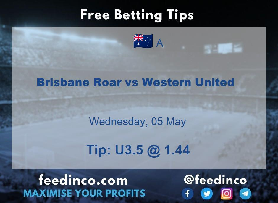 Brisbane Roar vs Western United Prediction