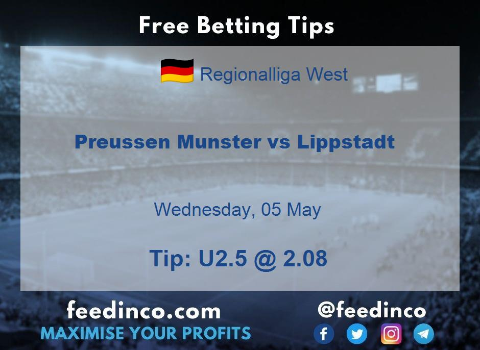 Preussen Munster vs Lippstadt Prediction