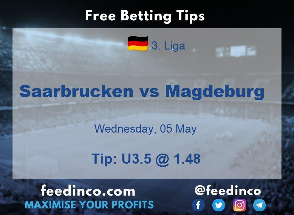 Saarbrucken vs Magdeburg Prediction