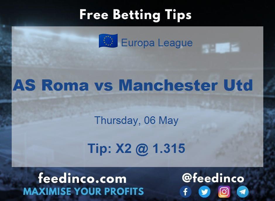 AS Roma vs Manchester Utd Prediction