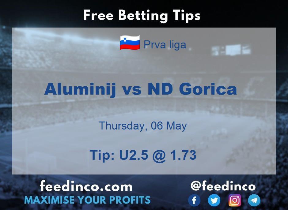 Aluminij vs ND Gorica Prediction