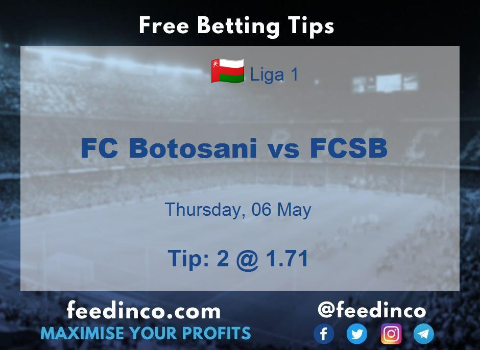 FC Botosani vs FCSB Prediction