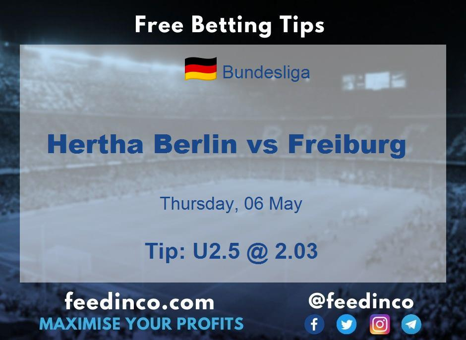 Hertha Berlin vs Freiburg Prediction