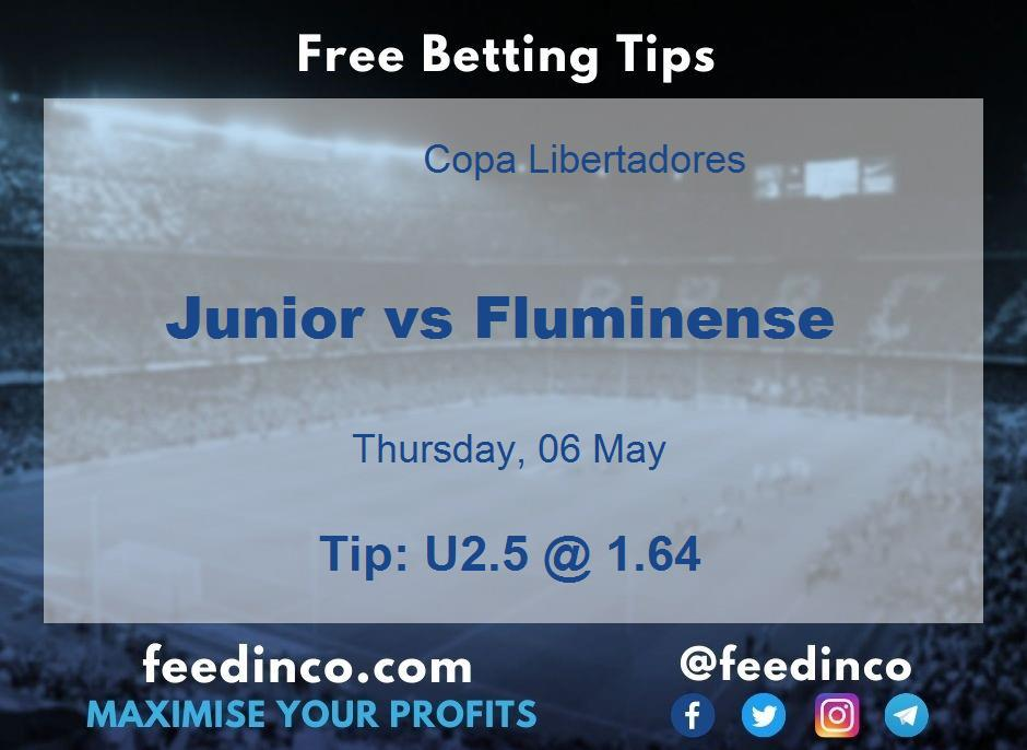 Junior vs Fluminense Prediction