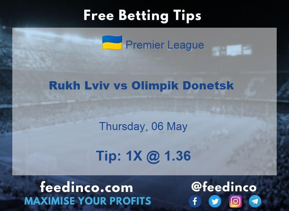 Rukh Lviv vs Olimpik Donetsk Prediction