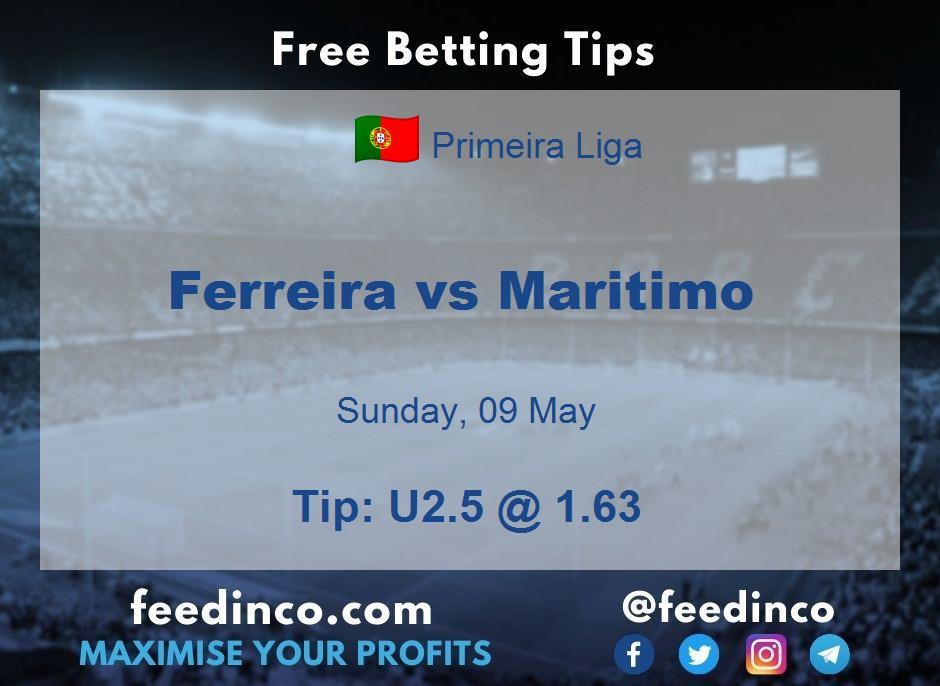 Ferreira vs Maritimo Prediction