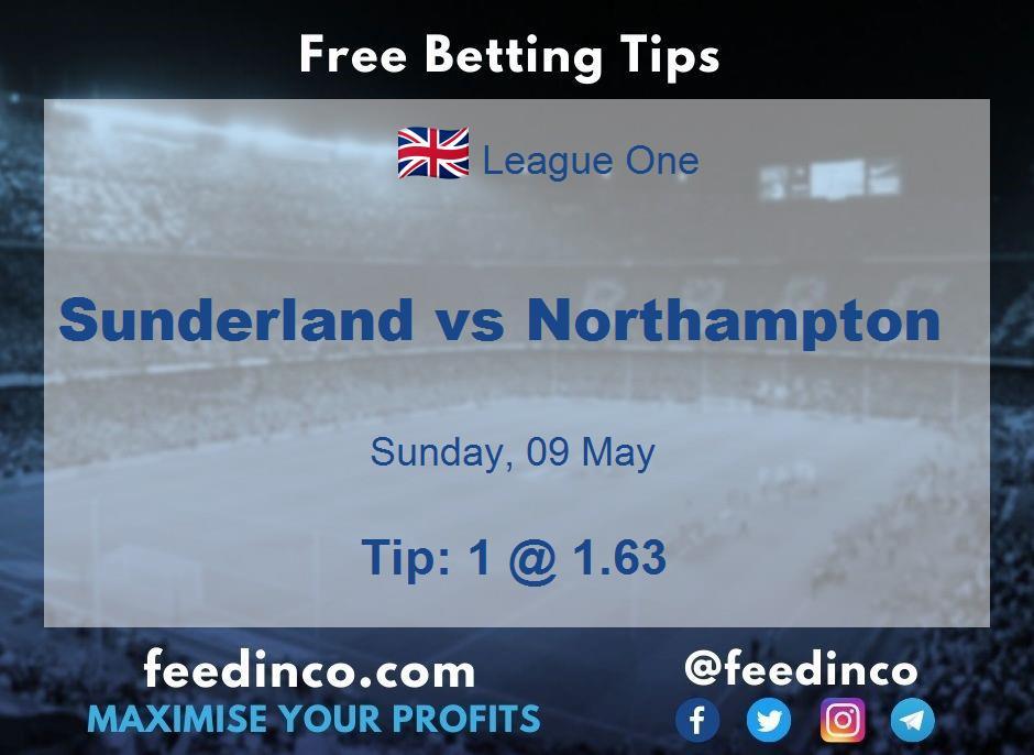 Sunderland vs Northampton Prediction