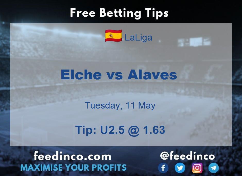 Elche vs Alaves Prediction