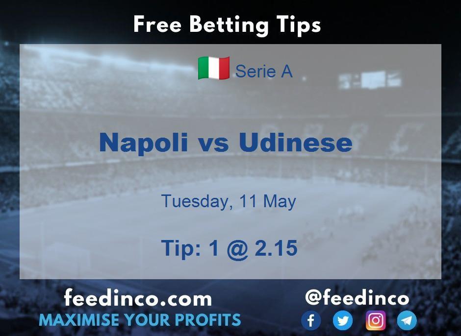 Napoli vs Udinese Prediction