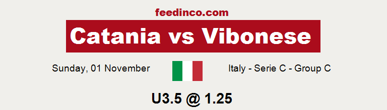 Catania v Vibonese Prediction
